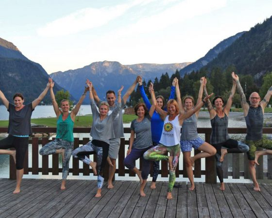 Rückblick: Yoga-Retreat am Achensee 2018
